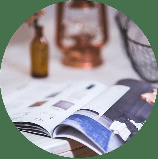 Annoncering-trykte medier-kernekommunikator