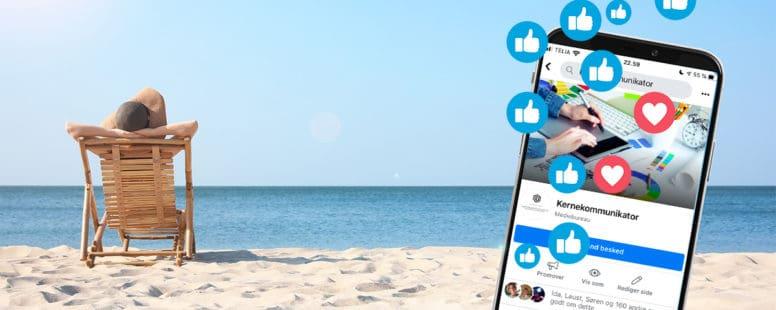 5 planlagte opslag, som holder jer synlige i ferien.