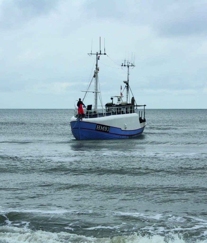 Erhvervsfiskere i Nordsøen: Mængden af spøgelsesgarn er minimal 1