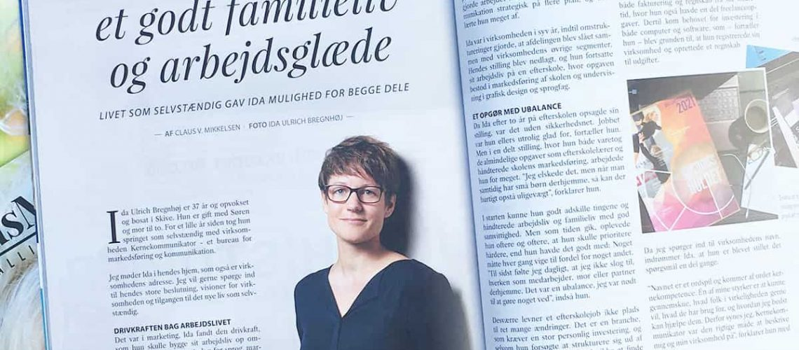 Artikel i magasinet